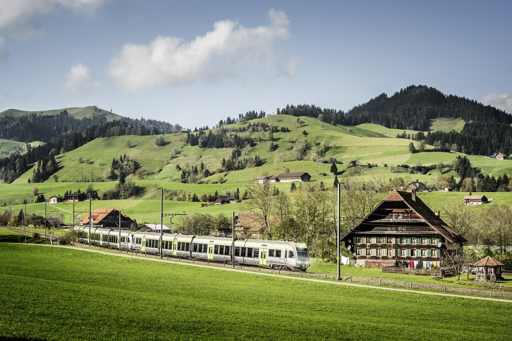 RE Luzern-Bern im Entlebuch